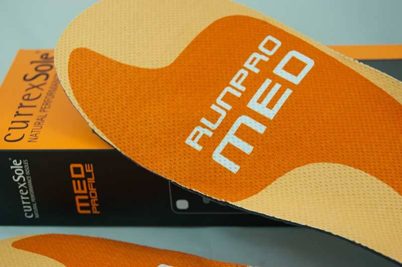 currexSole Runpro Medium Sohle